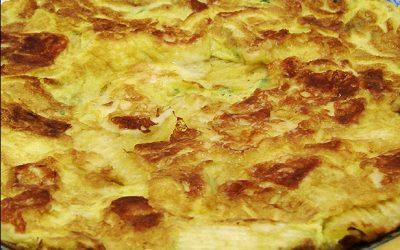 Omelete com Batata Chips